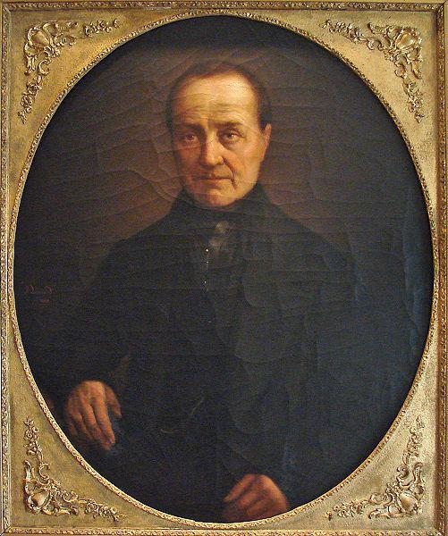 Maison d'Auguste Comte - portrait