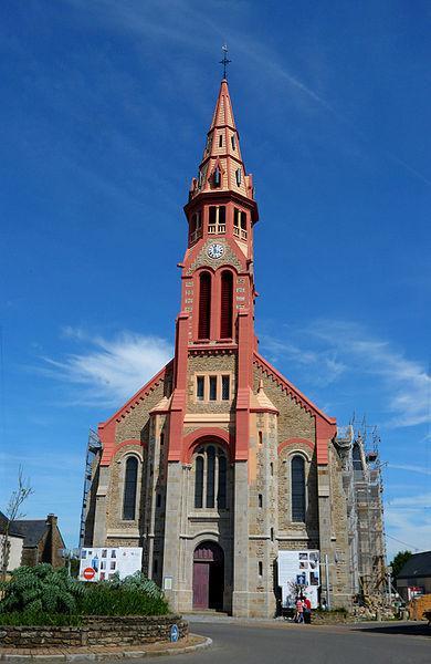 Eglise et clocher de Saint-Lyphard