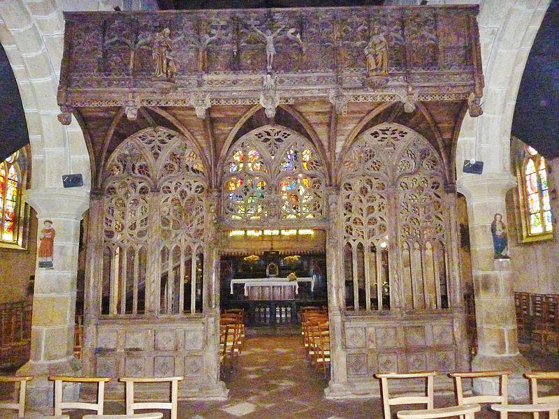 chapelle Notre-Dame de Lambader: le jubé