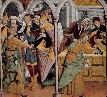 Chapelle Notre-Dame des Fontaines - fresque de Canavesio