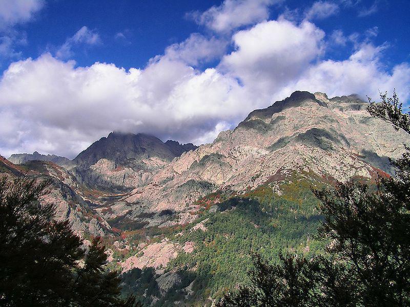 Col de Palmente : vue sure le Le Monte d'Oru