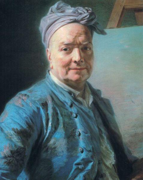 Louis de Silvestre : portrait de Maurice Quentin de La Tour