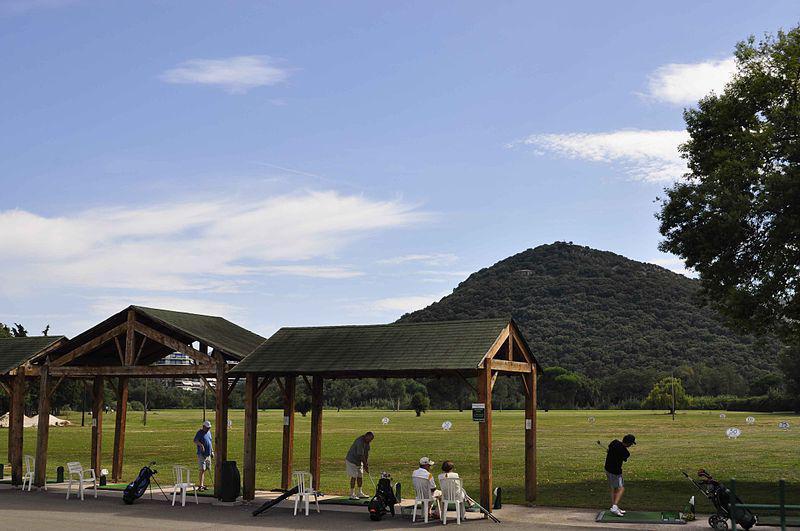 Vue de la colline de San Peyre