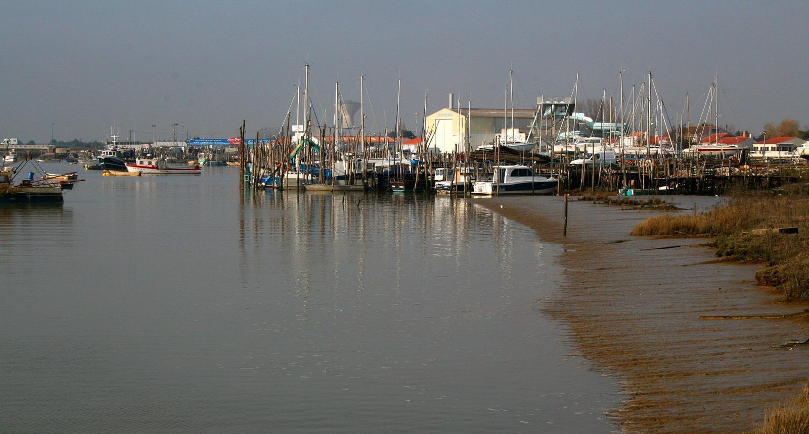 Le port de l'Aiguillon-sur-Mer