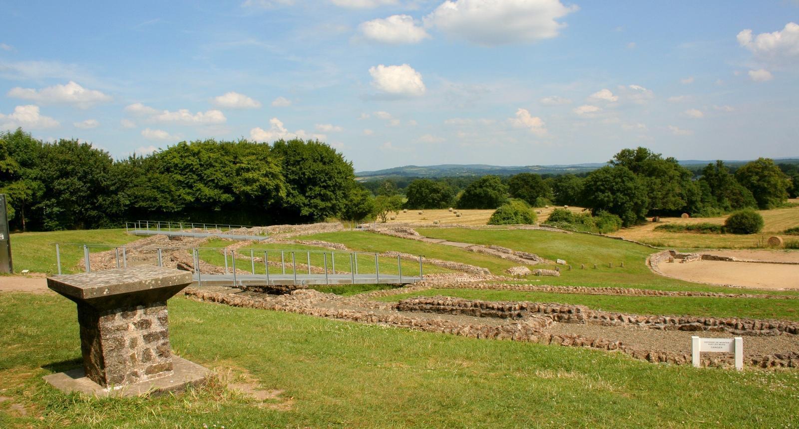 Site romain de Jublains