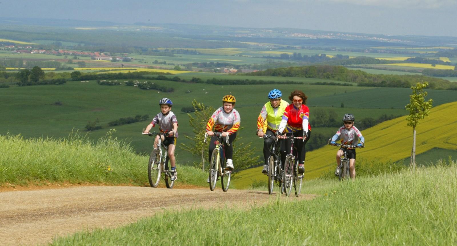 Vélo en Pays du Saulnois - Delme