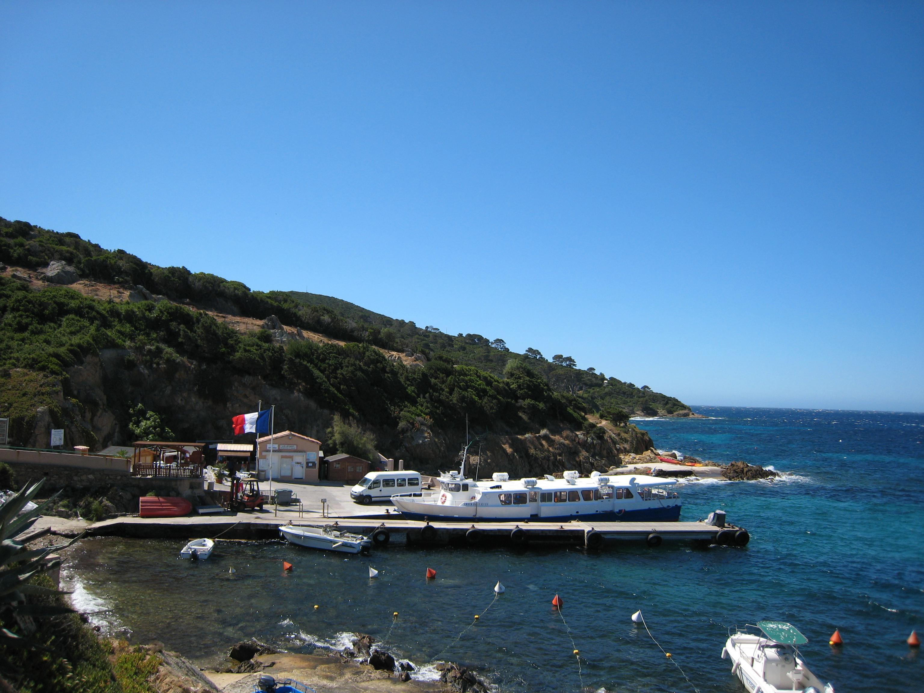 Port de l'île du Levant