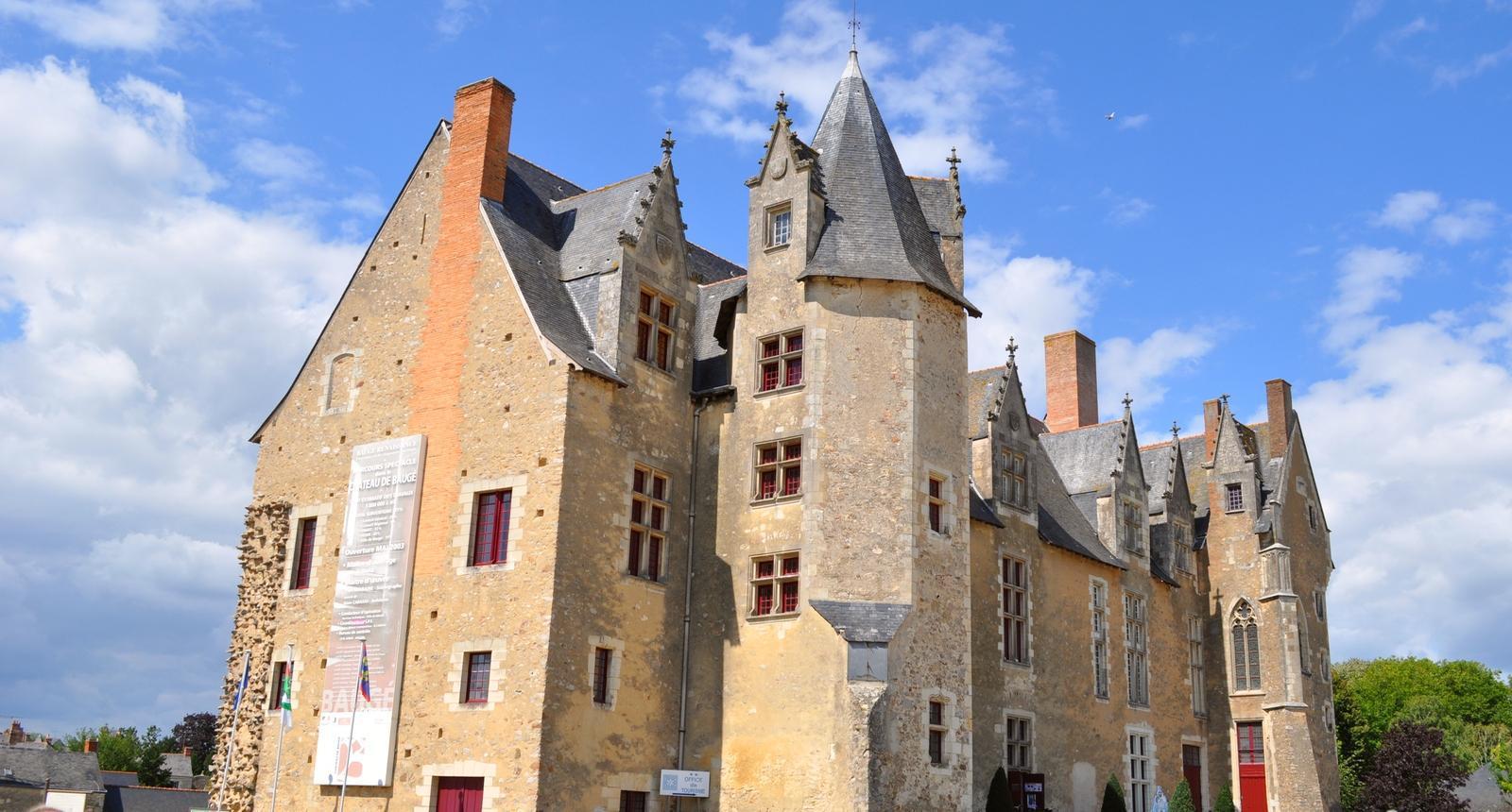 Le château de Baugé