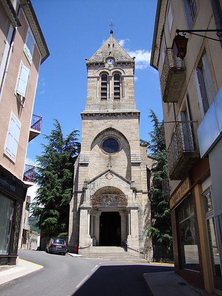 Privas, Ardèche, une des églises