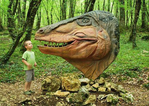 Image : Le Conquil Parc aux Dinosaures