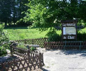 Source du Cher, Mérinchal