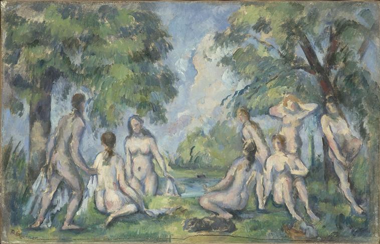 Les Baigneuses de Paul Cézanne (Musée Granet)