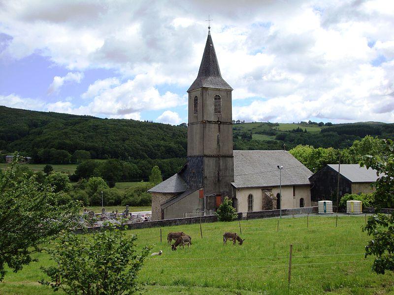 Murat-sur-Vèbre, église Saint-Etienne