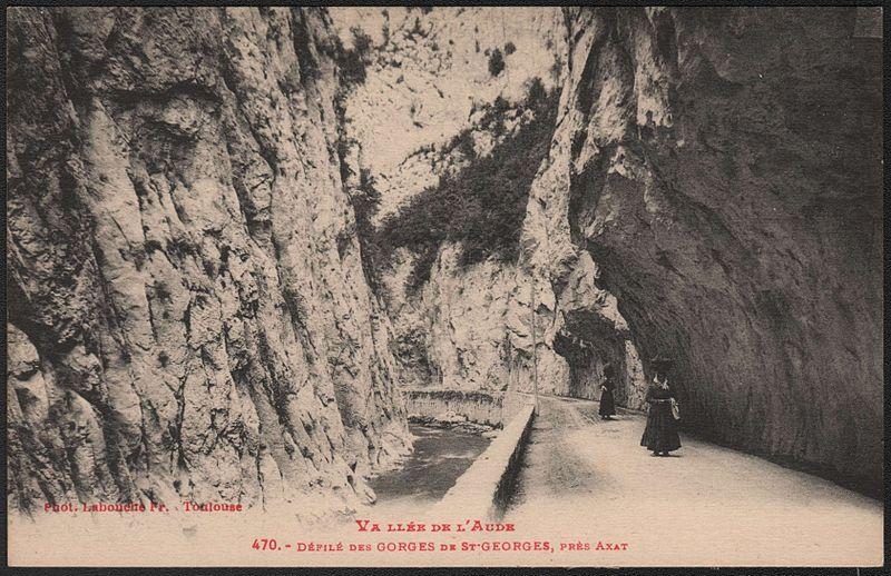 Défilé des Gorges de Saint-Georges, Axat