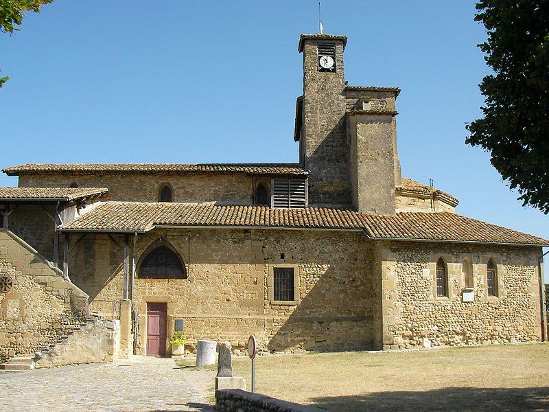 Image : Église Saint Didier d'Alixan