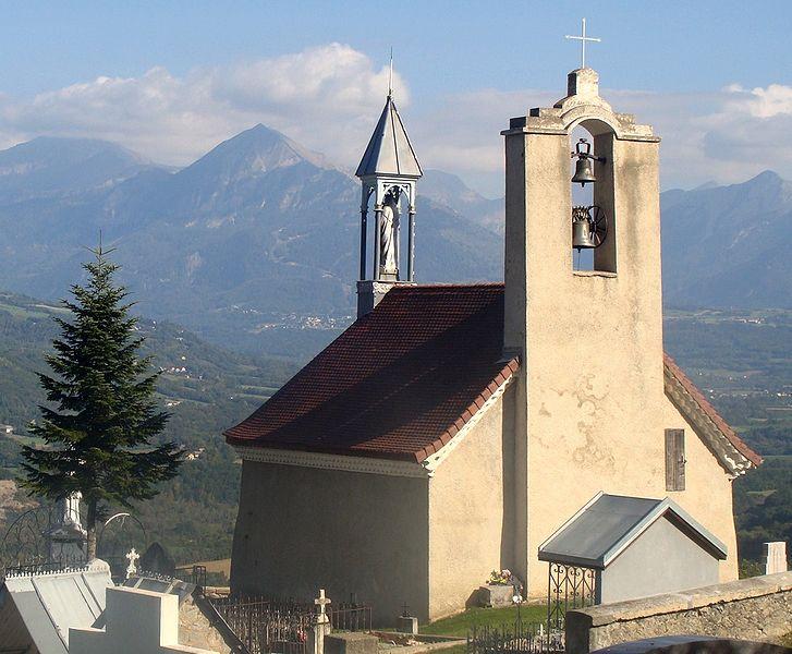 La Fare en Champsaur, chapelle Notre-Dame de Bois-Vert