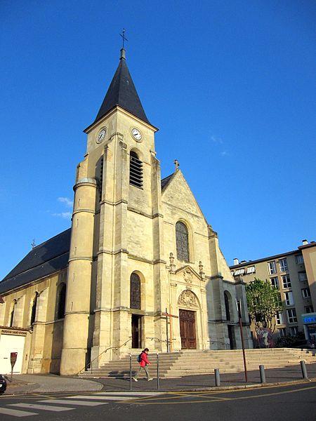 Issy les Moulineaux Eglise Saint Etienne