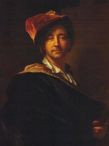 Musée Hyacinthe Rigaud - Autoportrait au turban (Perpignan)