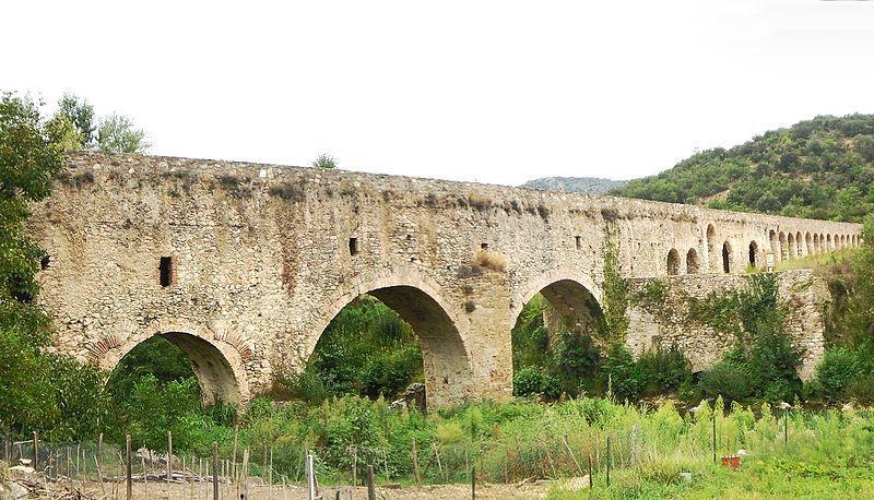 Aqueduc romaind'Ansignan
