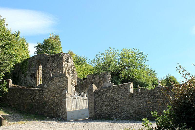 Livron-sur-Drôme, ruines de la Collégiale Saint-Prix