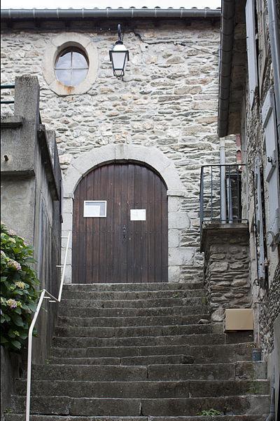 Le Collet de Dèze-Temple-Entrée