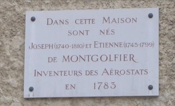Maison des Frères Montgolfier