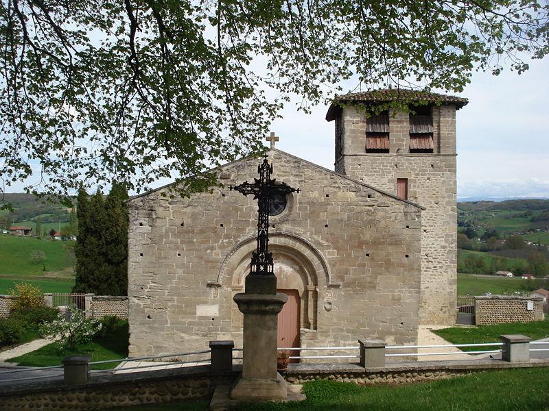 Image : Église Saint-Sever de Miribel