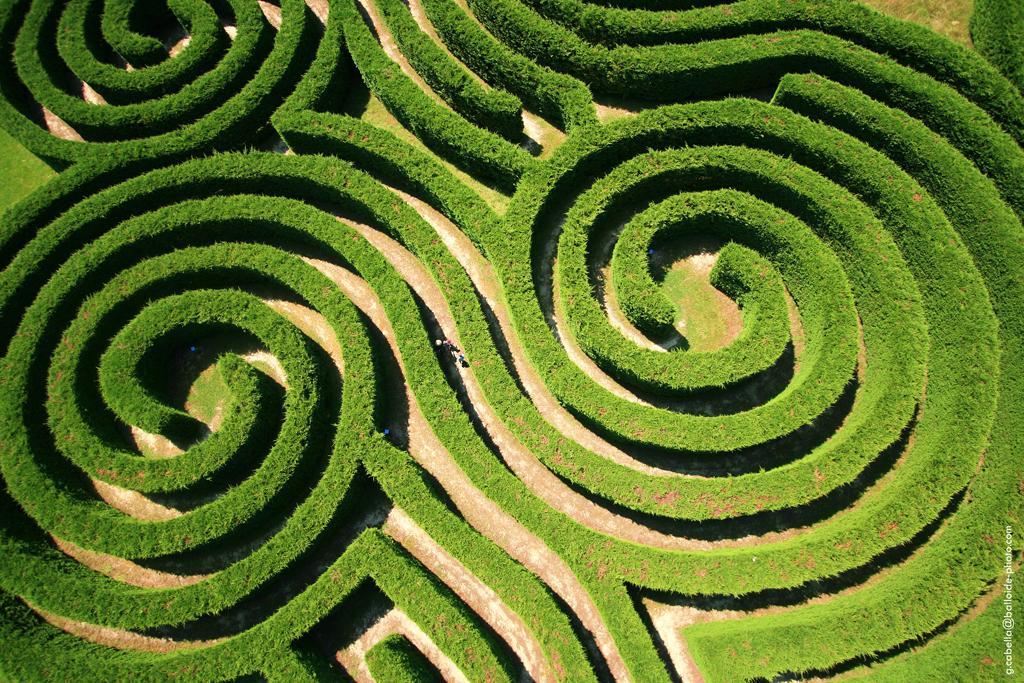 Image : Les Labyrinthes de Hauterives