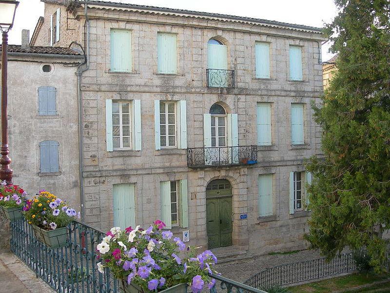Maison de la caricature, Hôtel de Montravel, Joyeuse
