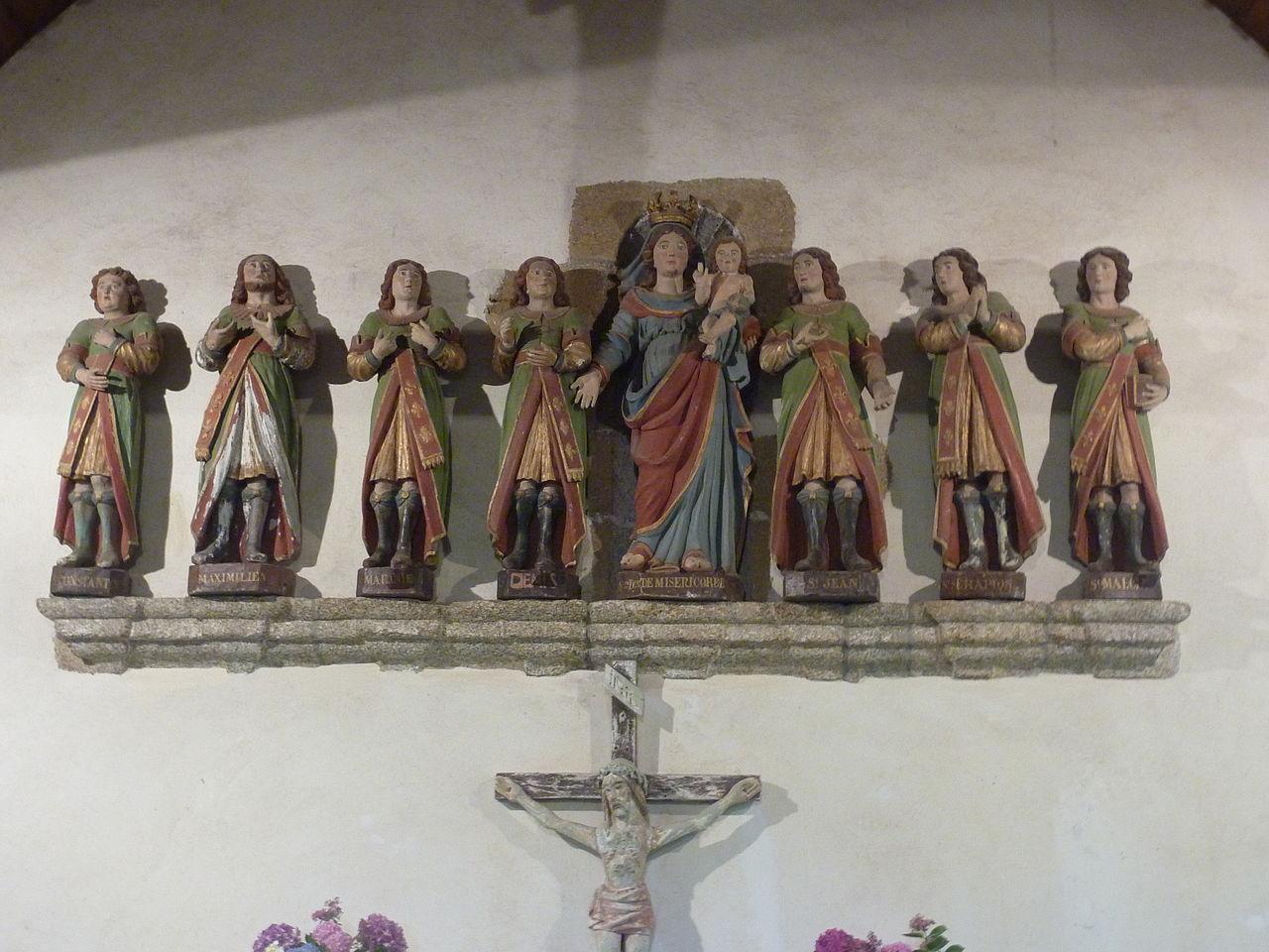 Les Sept-Saints dans le choeur