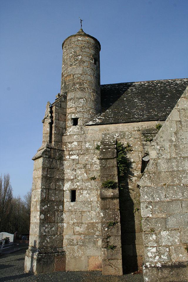 Chapelle de Locmaria - Belle-Isle-en-Terre - Tourelle