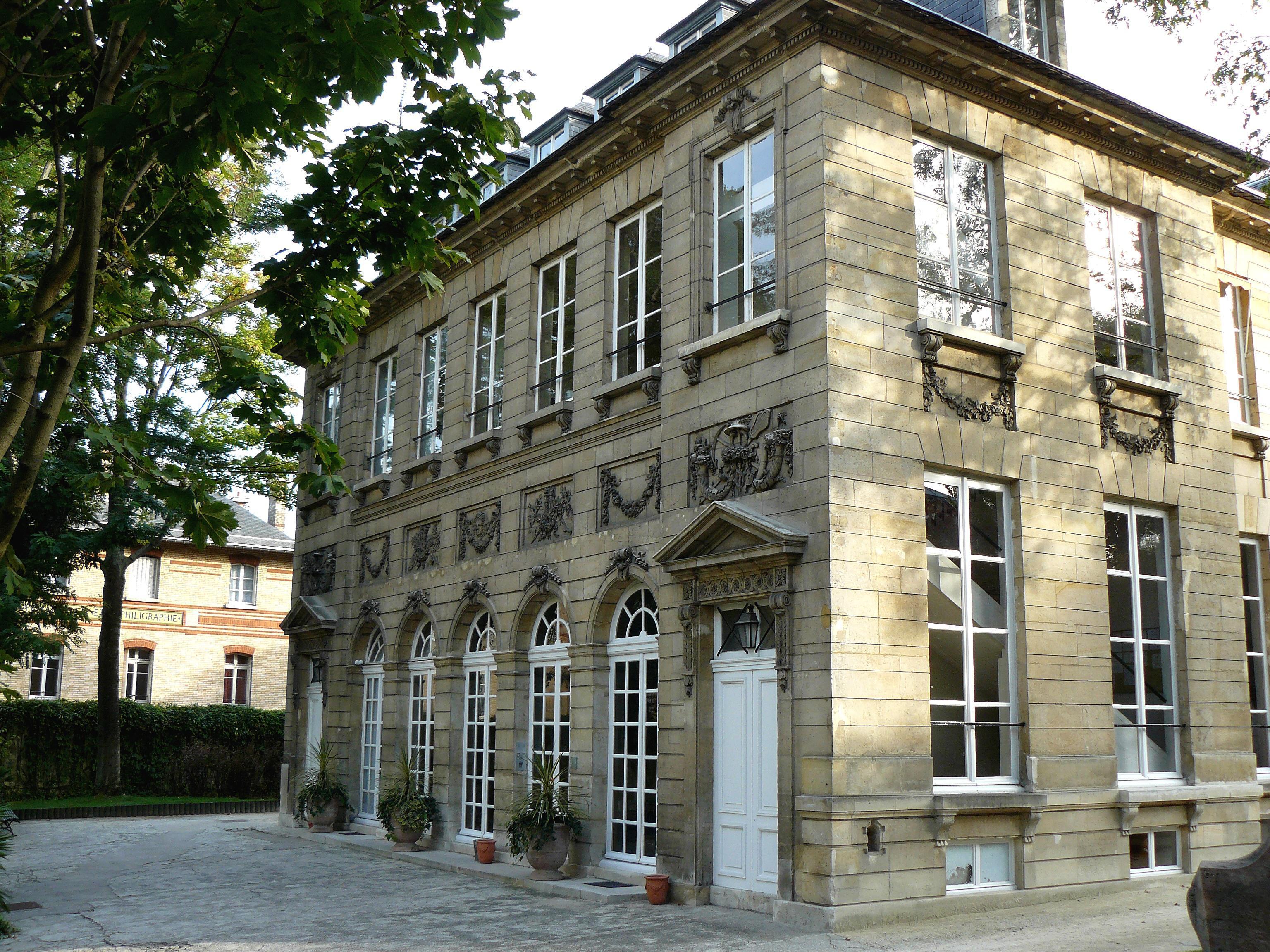 Hôtel de Massa - Société des Gens de lettres de France