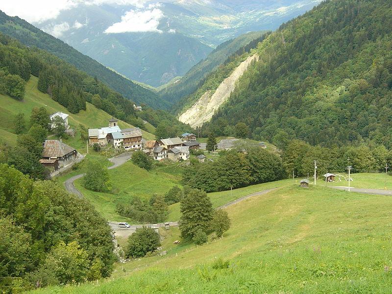 Village de Celliers, Savoie