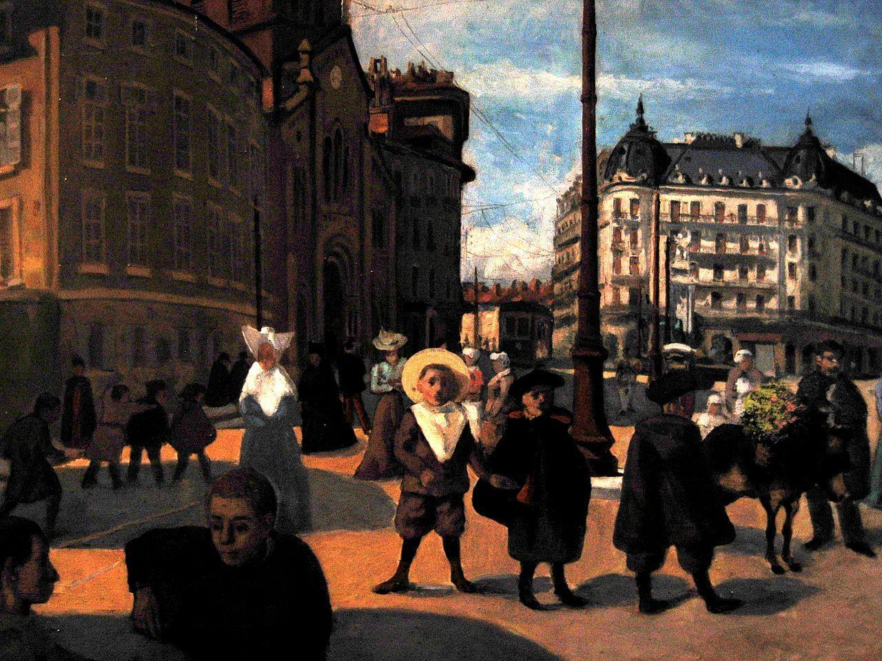 Musée Mainssieux, Place Notre Dame by François Joseph Girot