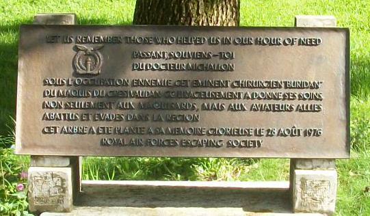 Grenoble, Parc Michallon, memorial Albert Michallon
