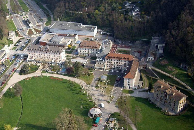 Parc thermal d'Uriage Les Bains