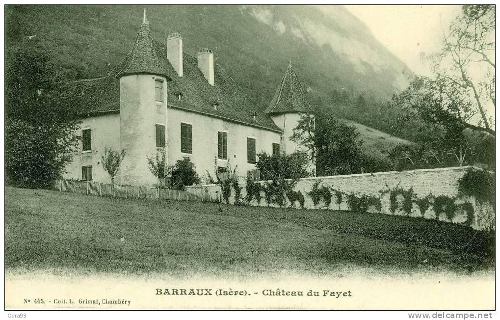Château du Fayet, Barraux