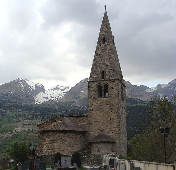 """La """"Mère Eglise"""" de Saint-Disdier en Dévoluy"""