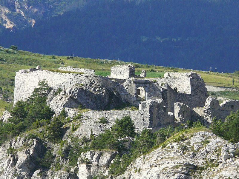 Aussois - Forts de l'Esseillon - Fort Charles-Félix