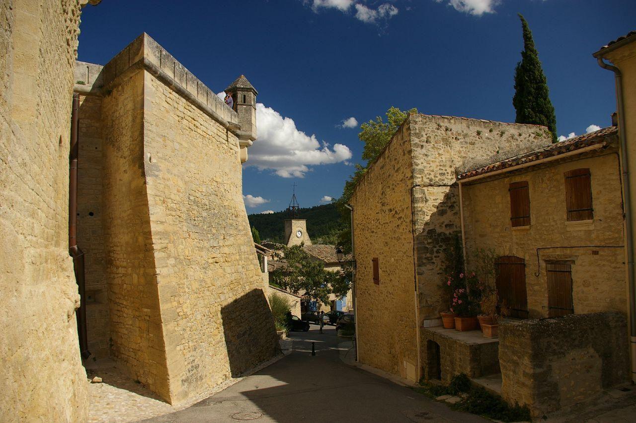 Village d'Ansouis, Luberon, Vaucluse