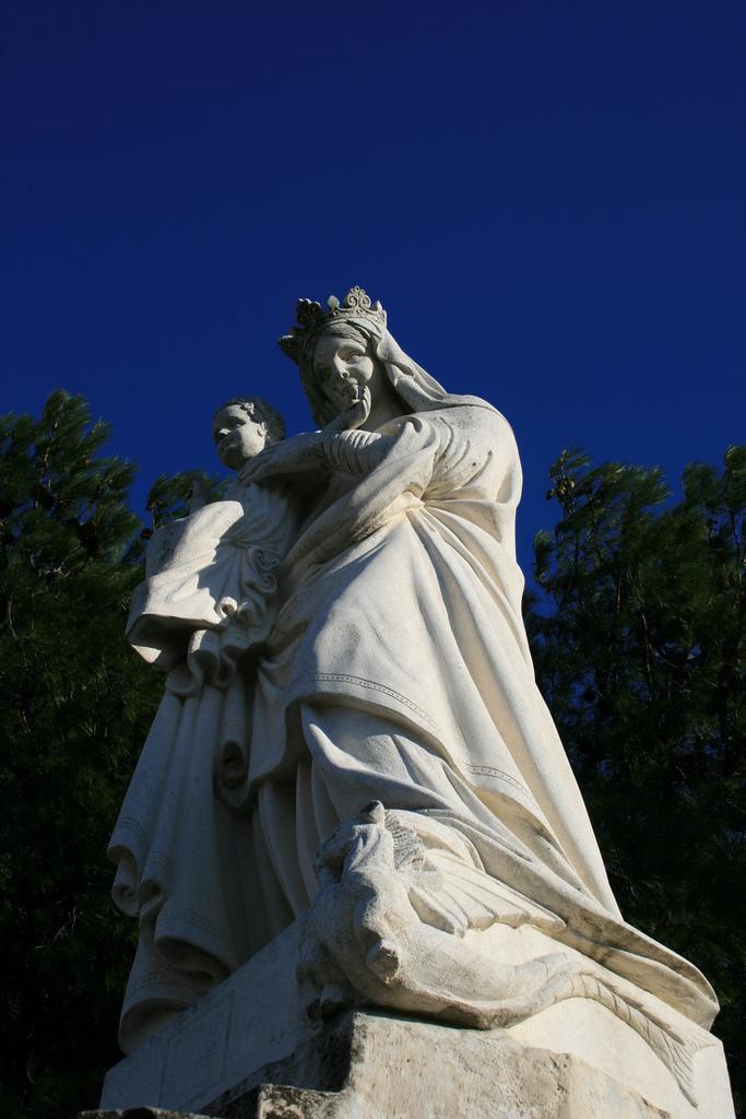 Statue vierge Marie_Bollène