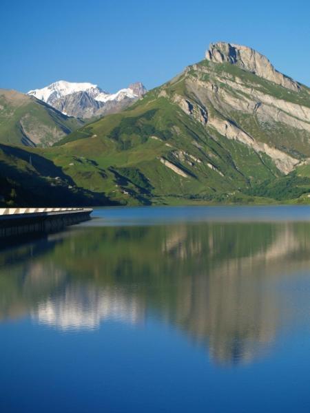 Barrage de Roselend_Beaufort
