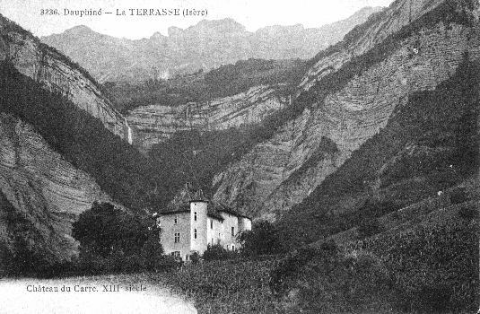Château du Carré, La Terrasse