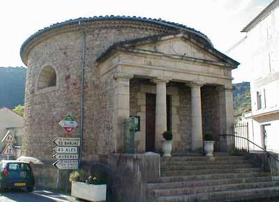 Temple Rond, Les Vans