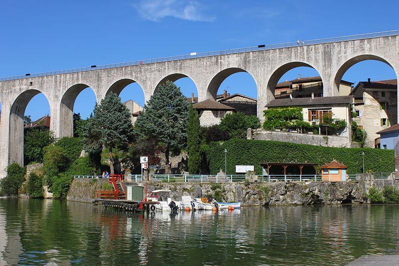 Aqueduc de Saint Nazaire en Royans