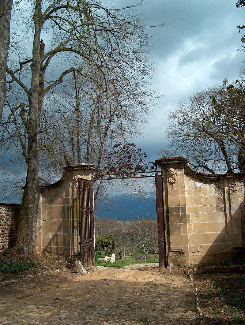 Château de l'Arthaudière entrée à l'est