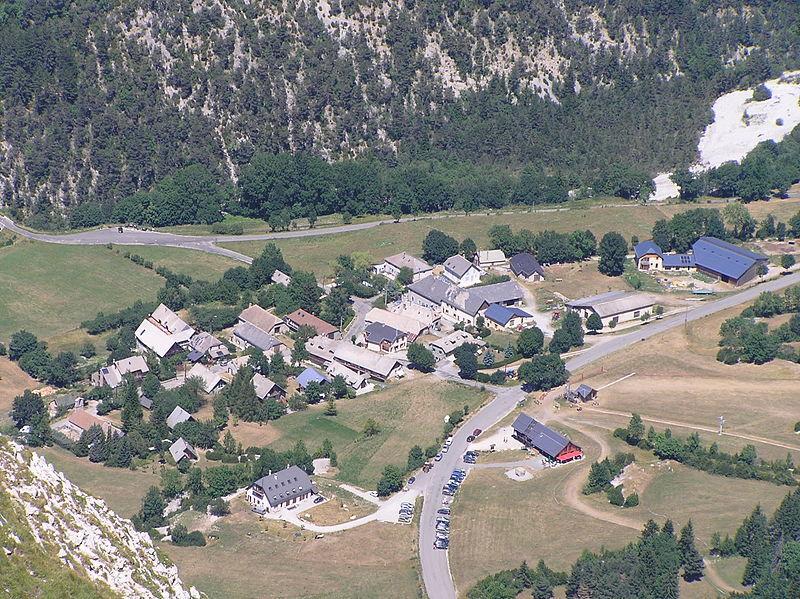 Image : Station de ski de Lus la Jarjatte