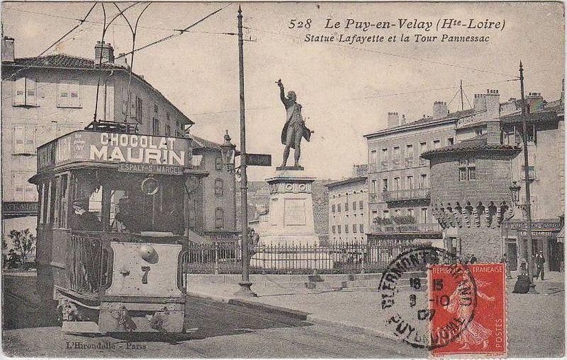Le Puy-en-Velay, carte postale ancienne