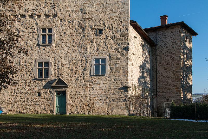 Roche la Molière, château