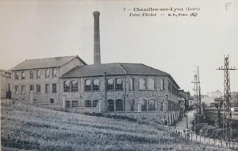 Ancienne chapellerie de Chazelles-sur-Lyon, aujourd'hui Musée du Cha